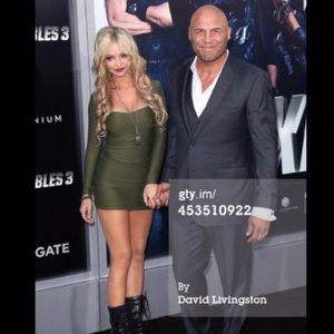 Dresses & Skirts - Army Green Dress from Expendables 3 Premiere